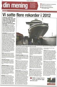 RA kronikk cruise 09.10.2012