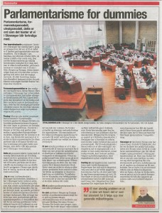 Parlamentarisme for dummies